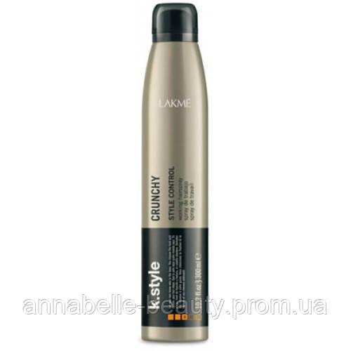 Lakme K.style Crunchy - Лак для волос сильной 300 мл