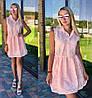 Женское легкое платье на пуговичках (2 цвета)