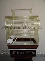 Большая золотая Клетка Для попугая Жако, Амазона, Александрийского, Кореллы, Розеллы. Фото