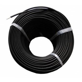 Кабель 6 мм черный