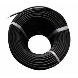Кабель 4 мм черный