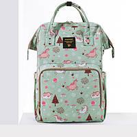 Рюкзак-сумка для мам Sunveno Large. Оригинал. Умный органайзер. Стильный дизайн.