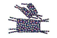 """Защитные бортики в кроватку GoforKid Лулу Full (""""Ca va"""" by Veronique Pettit)(1330-204-993-1)"""