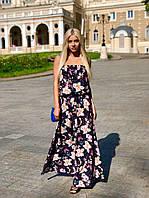 Платье летнее длинное в расцветках 25200, фото 1