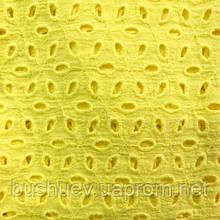 Ткань батист перфорированный с вышивкой (P5351)