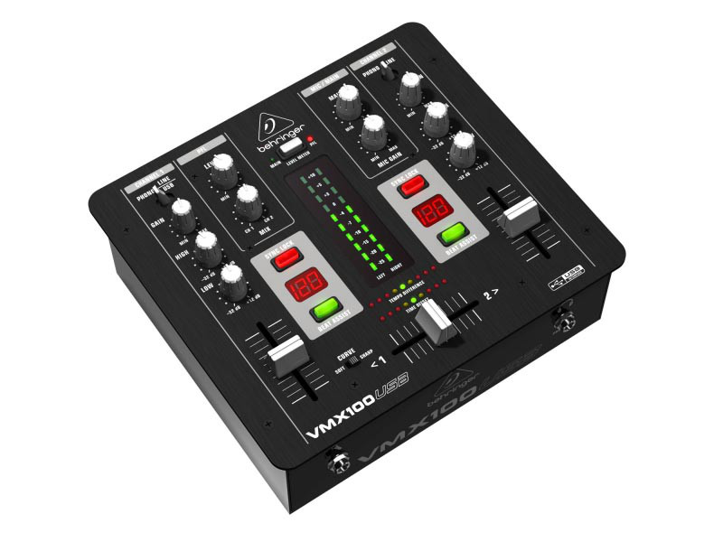 DJ-мікшер BEHRINGER PRO VMX100USB