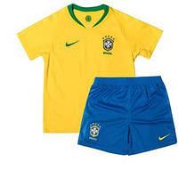 Детская форма сборной Бразилии (домашняя) 2018-2020. Элитный полиестер