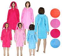 NEW! Комплекты халатов Family Look (мама + дочка) серии Зайчики ТМ УКРТРИКОТАЖ!