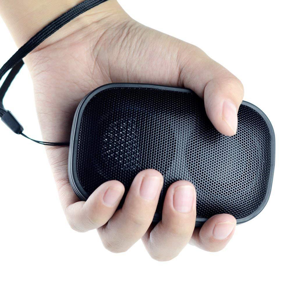 Портативная Bluetooth колонка с FM тюнером и встроенным микрофоном черная