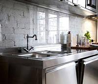Кухонный фартук из сверхпрозрачного стекла