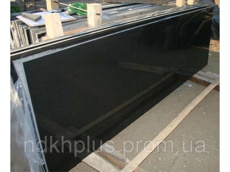 Гранитная полированная плитка Габбро 40мм