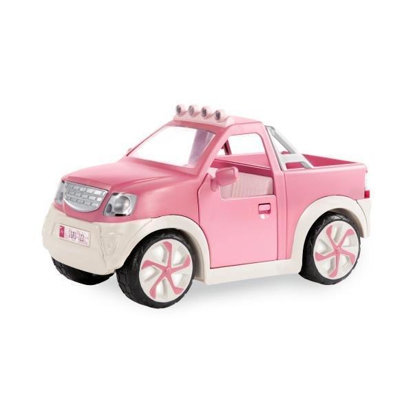 Транспорт для кукол LORI Джип розовый с FM радио LO37033Z