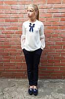Блузы регланы с брошками, фото 1