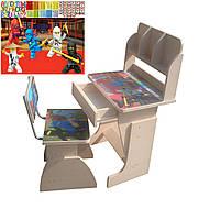 "Детский стол-парта и стул ростишка ""Ниндзяго"""