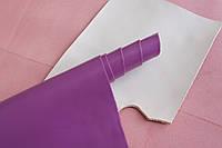 Натуральная кожа для обуви и кожгалантереи фиолетового цвета, толщина 1.4 мм, арт. СК 2108, фото 1