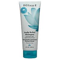 Шампунь против псориаза для чувствительной кожи головы,  236 мл, Derma E
