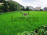 Квадрокоптер для опрыскивания полей 3WDM4-10