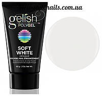 Gelish PolyGel Soft White(белый), 30 грамм