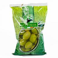 Оливки Verdi Dolci Giganti Vittoria (пакет) 850г