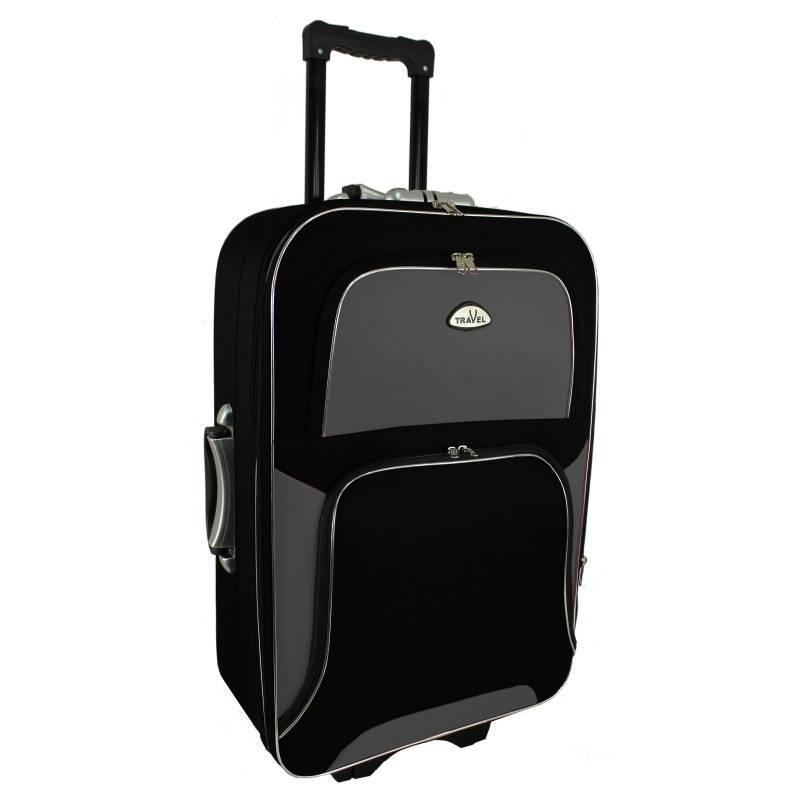 Чемодан сумка RGL Travel 310 (большой) черно-серый