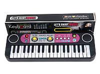 Детский синтезатор, с микрофоном, с FM радио, 37 клавиш MQ014FM