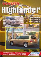 TOYOTA HIGHLANDER   Модели 2WD & 4WD   Руководство по ремонту и эксплуатации, фото 1