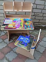 """Школьная парта и стул растишка""""Лунтик"""""""