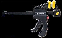 Струбцина TOPEX пружинная, 150 х 60 мм