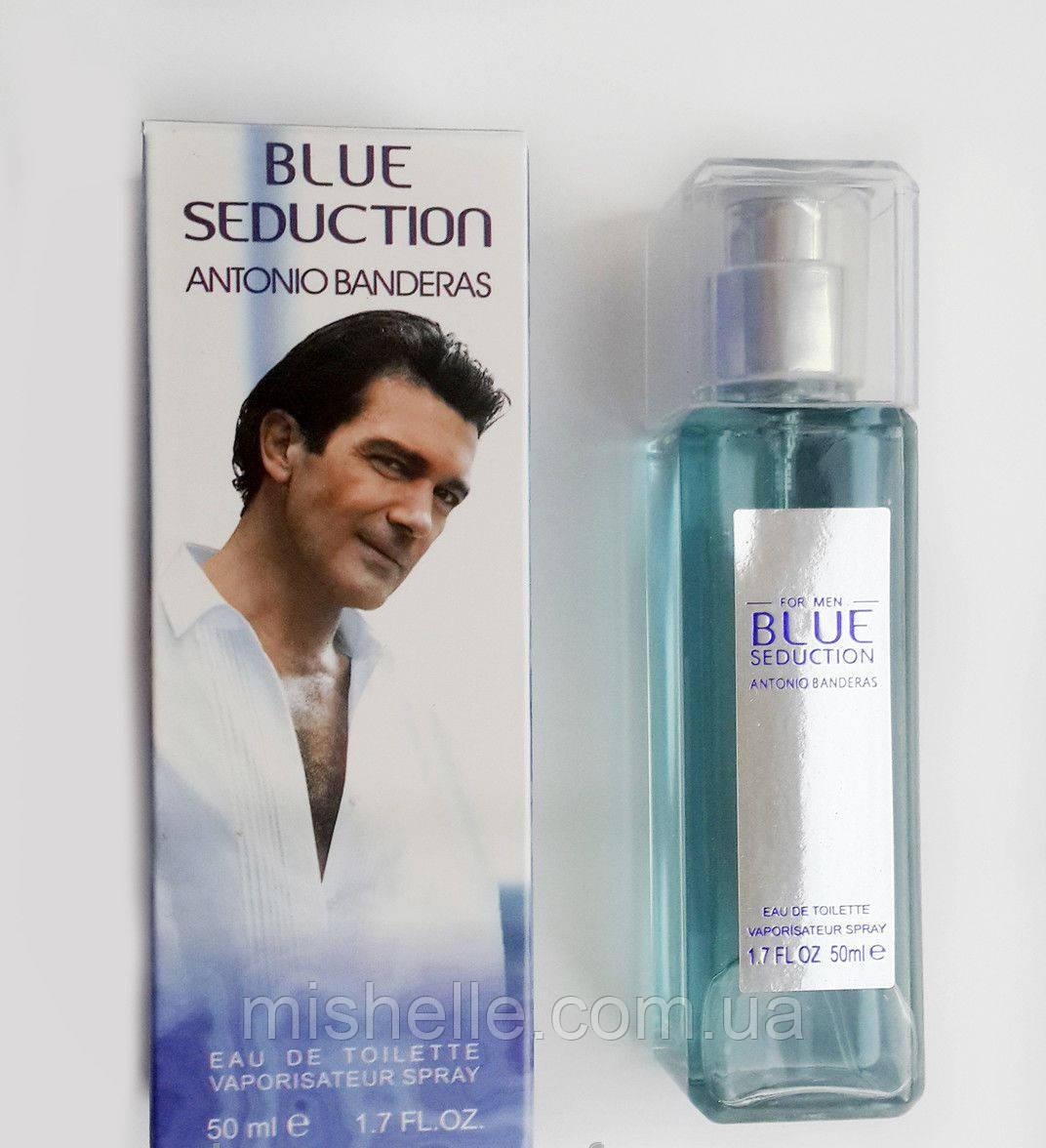 Чоловіча парфумована вода Antonio Banderas Blue Seduction Men (Антоніо Бандерас Блю Седакшн Мен)