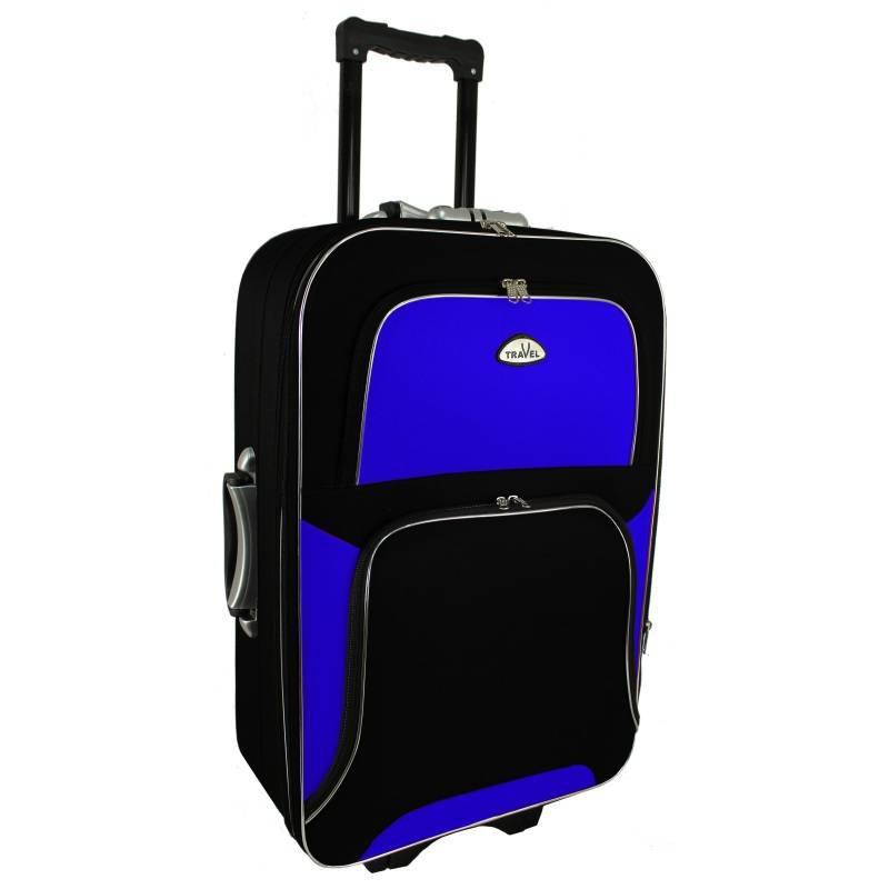 Чемодан сумка RGL Travel 310 (средний) черно-синий