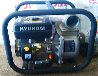 Бензиновая мотопомпа  с ручным запуском Hyundai hy 80