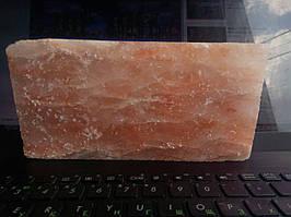 Солевая плитка  200 х 100 х 25 (гималайская соль)