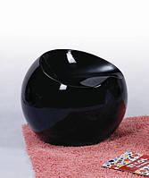 Пластиковый пуф Рензо, черный