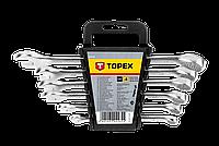Набор ключей комбинированных TOPEX, 8-17 мм, 6 шт.