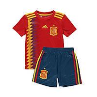Детская футбольная форма сборной Испании (домашняя) 2018