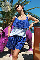 Костюм женский топ и шорты  в расцветках 25205, фото 1