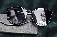 Dior (реплика) Солнцезащитные очки женские кошка круглые Cat eyes , фото 1
