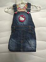 Сарафан-платье Hello Kitty для девочки 62-68, фото 1