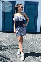 Костюм женский топ и шорты  в расцветках 25206, фото 1