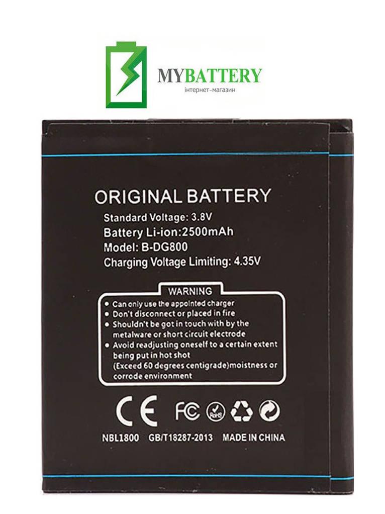 Оригинальный аккумулятор АКБ батарея Doogee B-DG800 DG800 Valencia