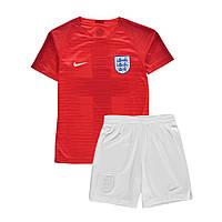 Детская футбольная форма сборной Англии (выездная) 2018