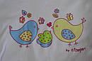 """Комплект на выписку """"Птички"""" розовый (5 элементов) (Nicol, Польша), фото 3"""