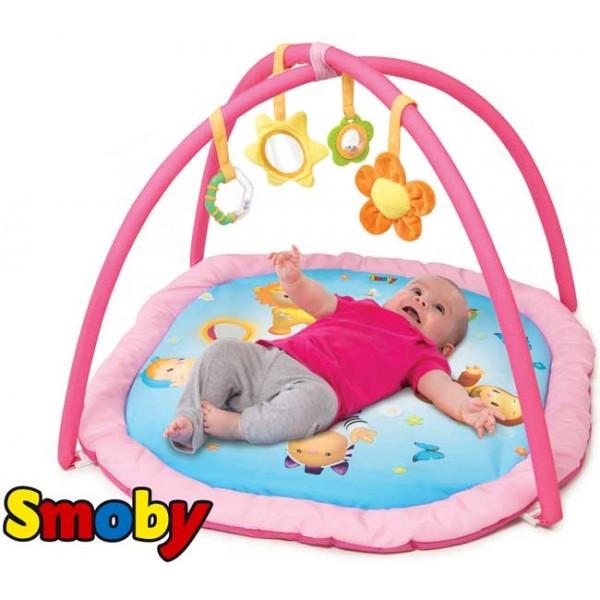 Развивающий коврик Smoby Cotoons розовый 110212R, фото 1