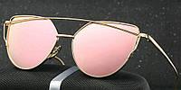 Очки женские солнцезащитные Dior Monster pink пудра розовые , фото 1