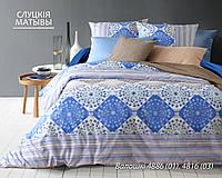 Комплект постельного белья двуспальный ВАЛОШКИ (нав. 70*70)