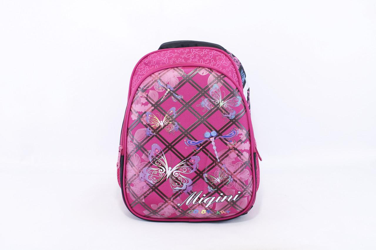 """Детский школьный рюкзак """"Miqini 6670"""" Розовый"""