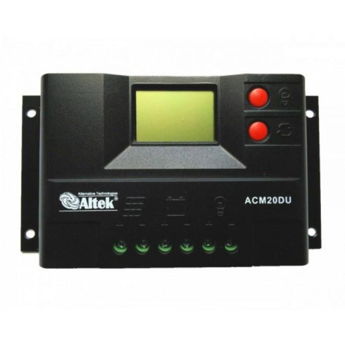 Контроллер заряда ACM20D-10+USB