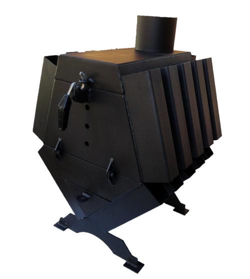 Буржуйка с варочной поверхностью Turbina-120 LuxTerm (сталь 4 мм)