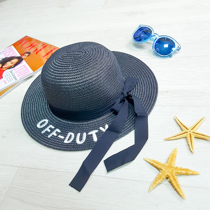 """Шляпа чёрная """"Off - Duty"""" 502-04-1"""