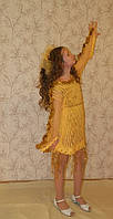 Карнавальный  костюм Золотая рыбка для девочки продажа, прокат